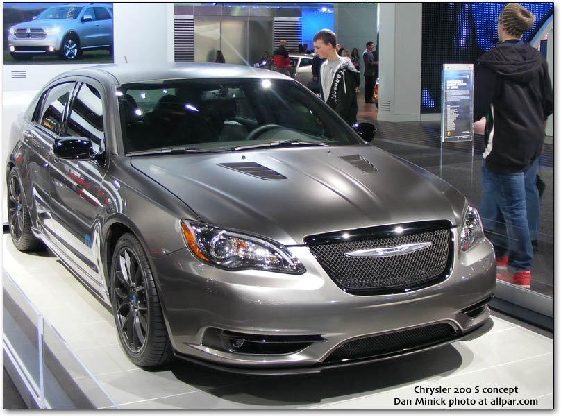 D Super S S Concept on 2012 Chrysler 200 Touring