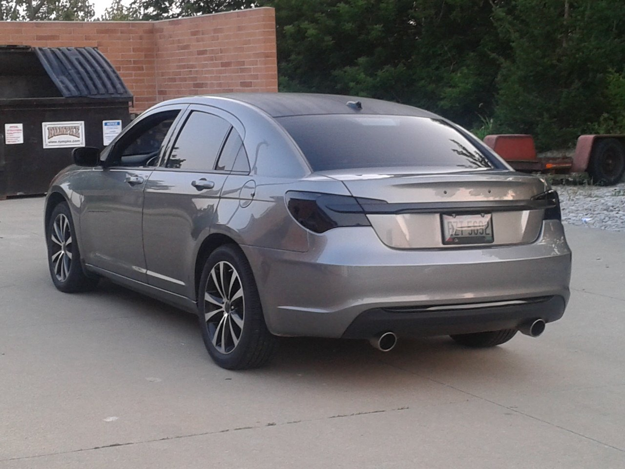 Chrysler 200 Aftermarket The Gallery For Gt Blacked Out