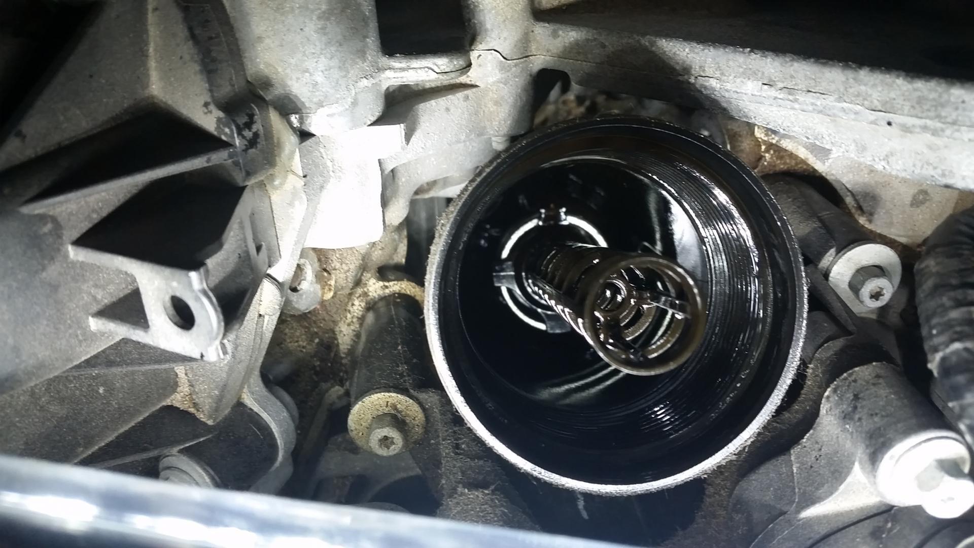 Oil Filter Holding Rod Broken Chrysler 200 Forum