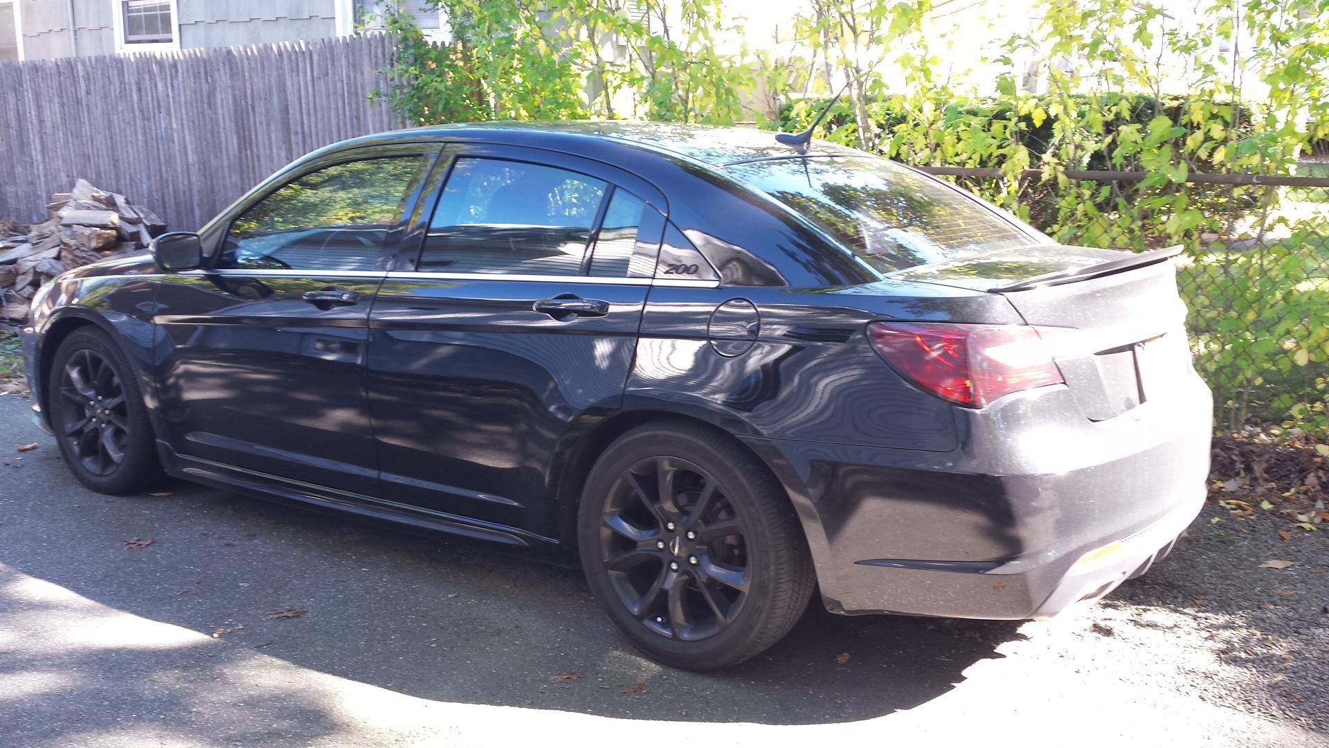 D Inch Rims Lowering on 2012 Chrysler 200 Tires