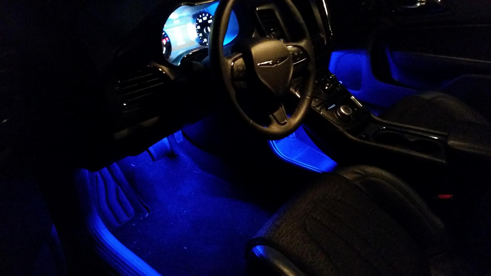 Blue Led Interior Lights With Pics