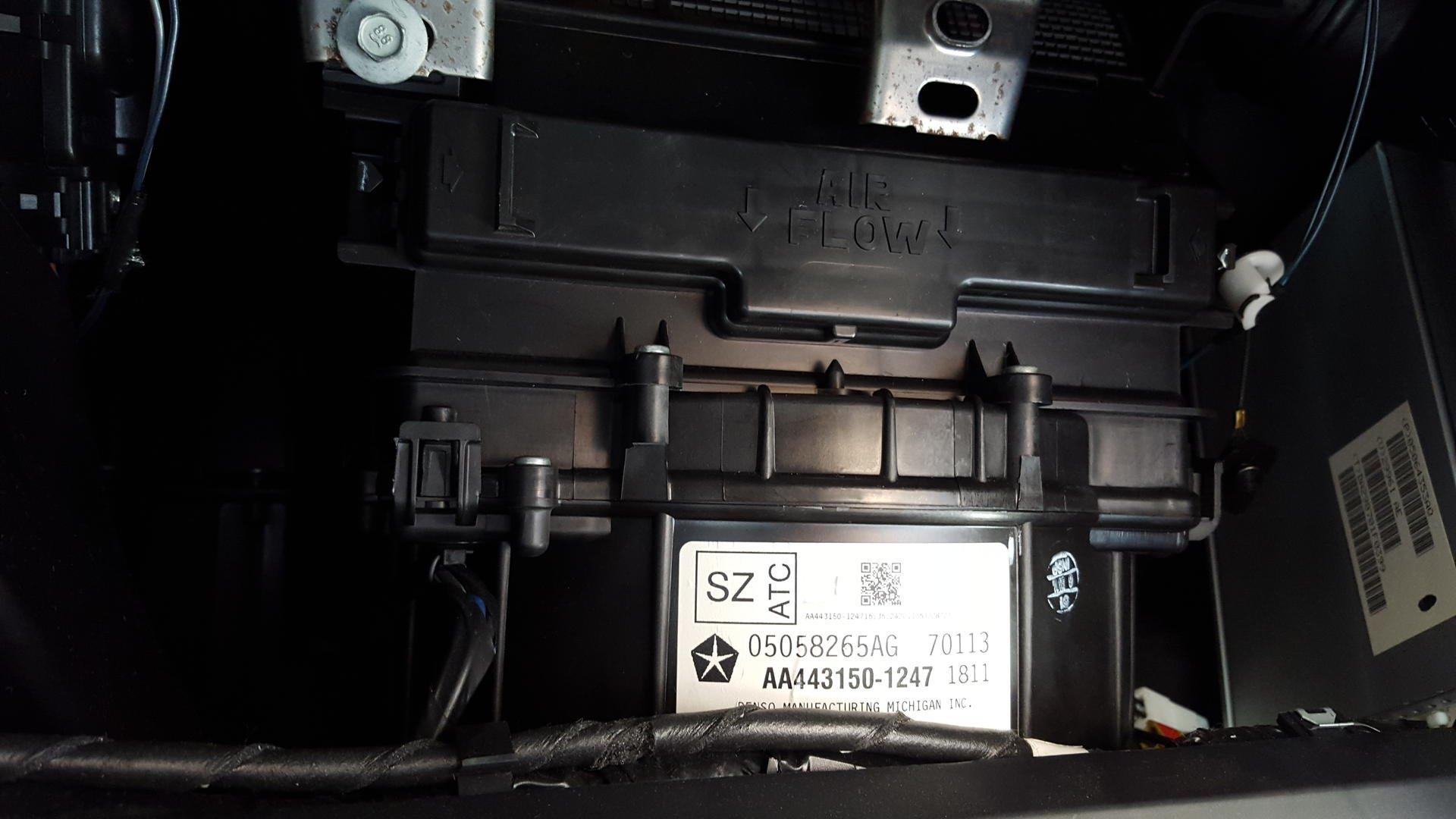 D St Gen Diy Cabin Air Filter Replacement on 2015 Chrysler 200 Cabin Air Filter Location