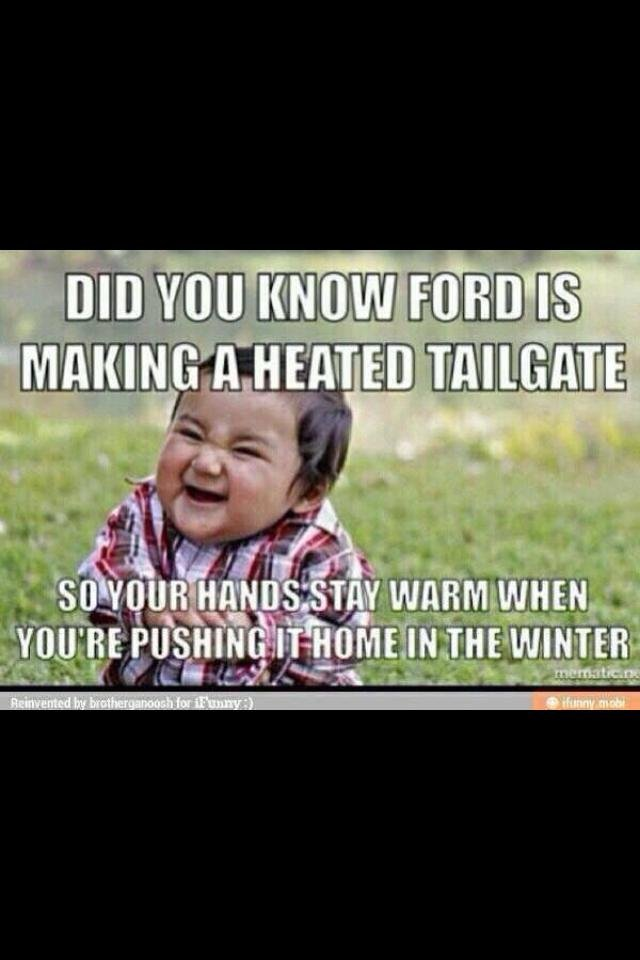 More Ford Jokes