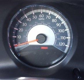 Chrysler 200 Limited >> Brake Light on Dash
