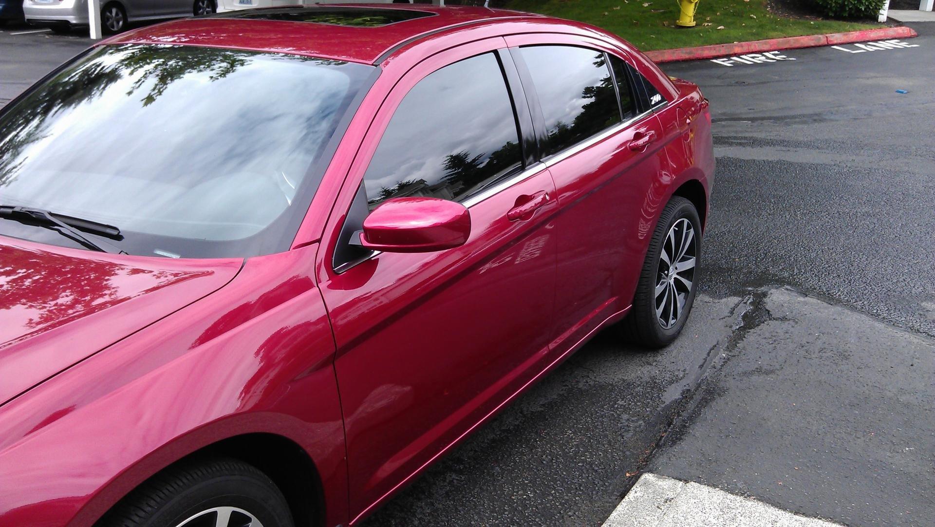 D Window Tint Imag on 2012 Chrysler 200