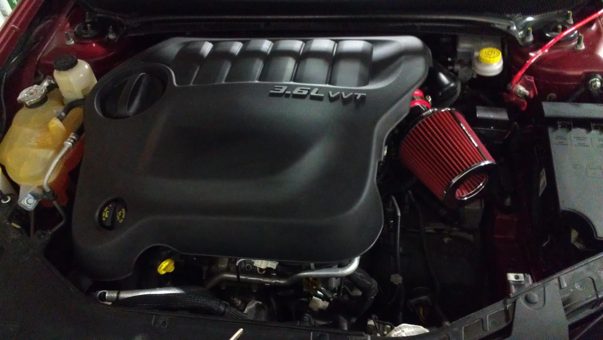 D Cold Air Intake Imag on 2012 Chrysler 200 Cold Air Intake