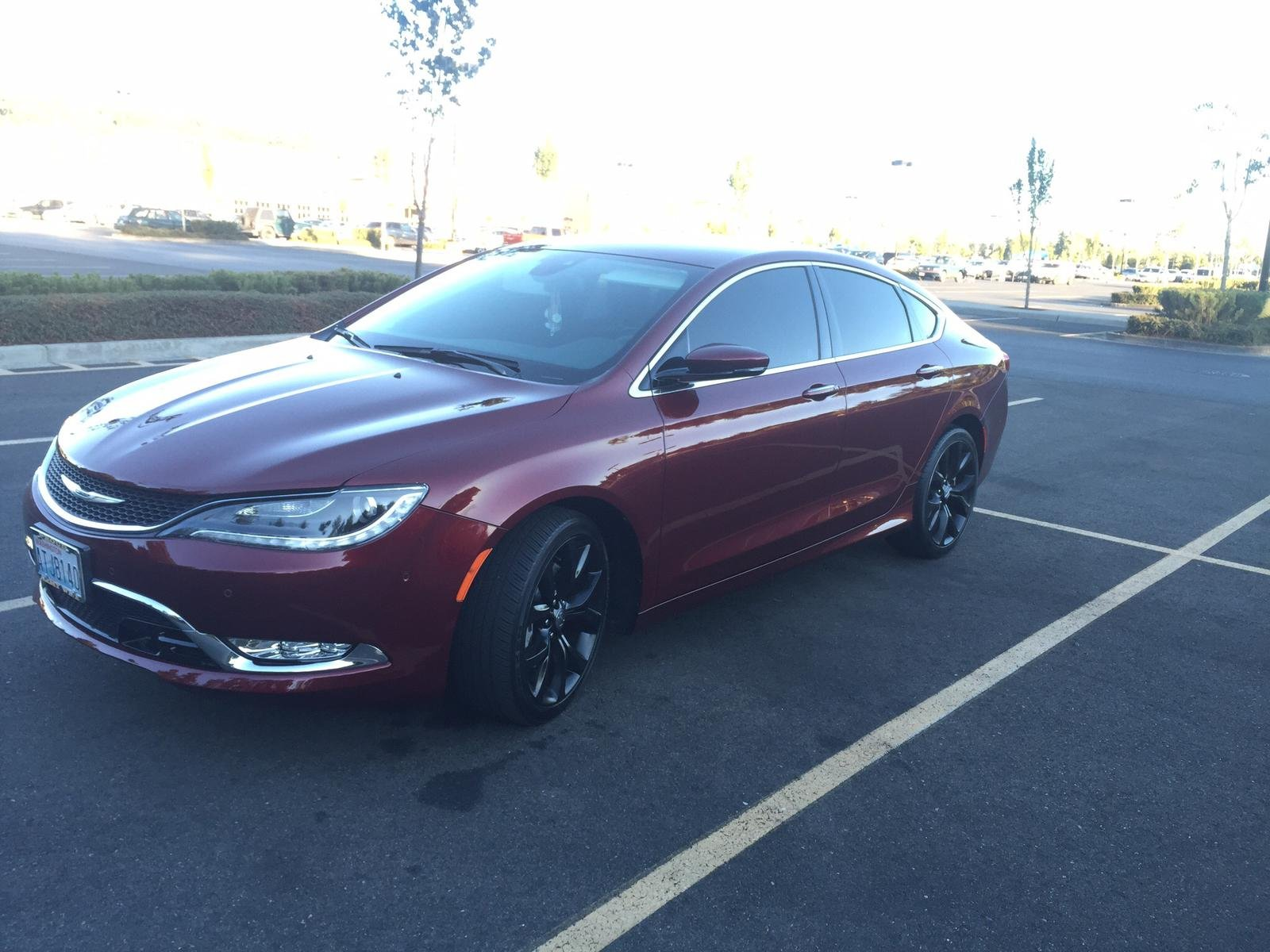 Chrysler 200 Limited >> Painted rims!