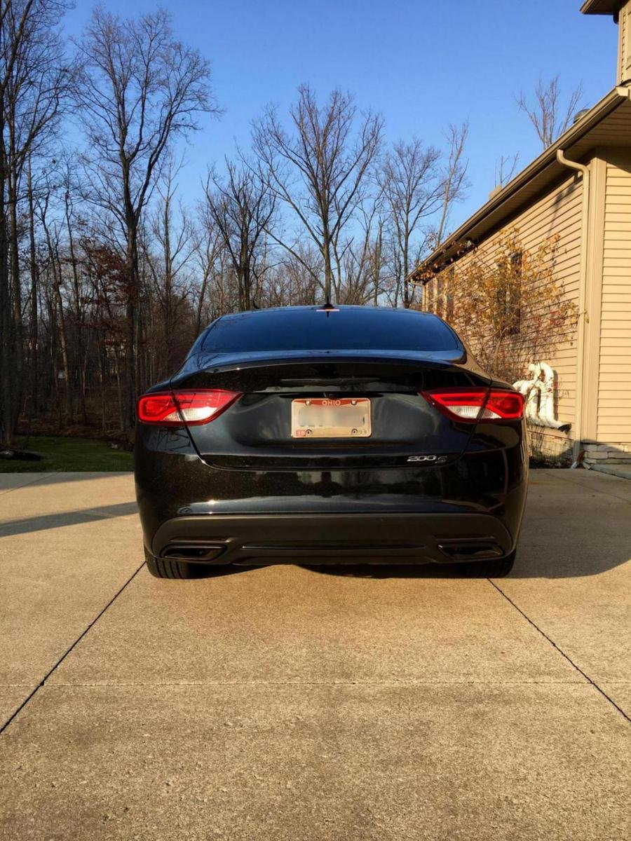Chrysler 200 Limited >> 2015 200s Blacked Out