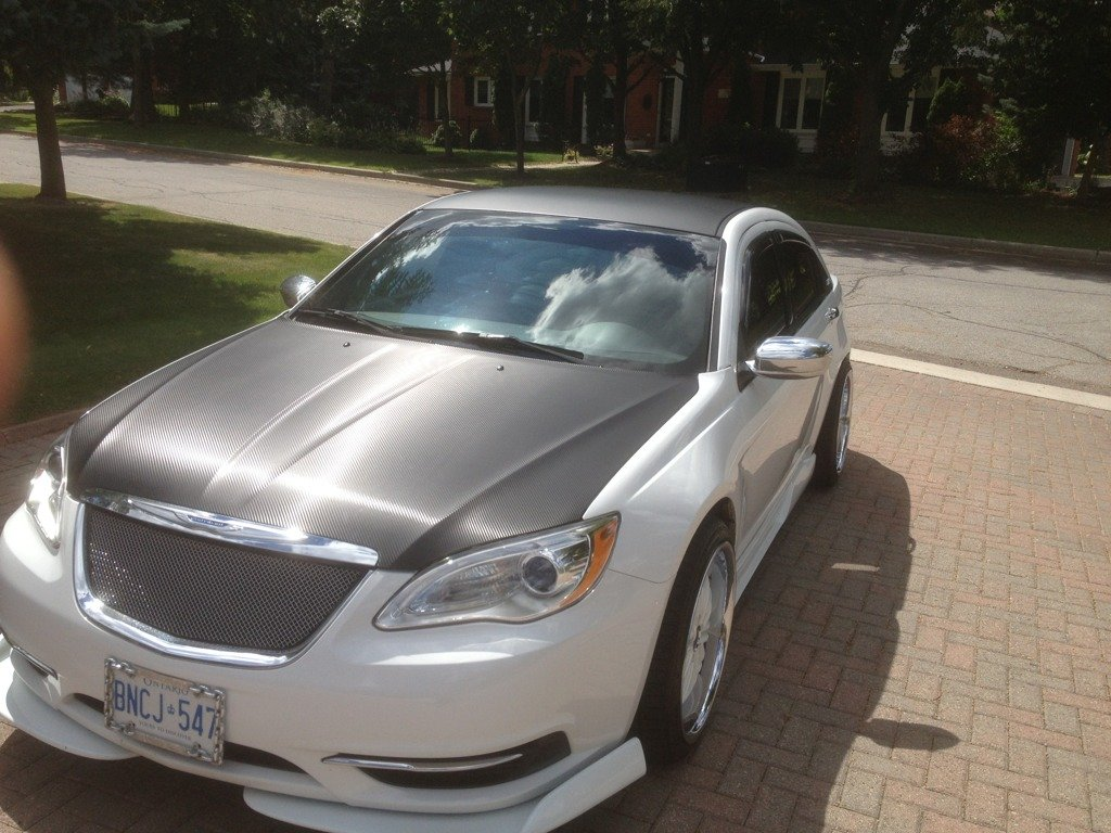 Chrysler 200 lx custom rare one of a kind no joke for sale