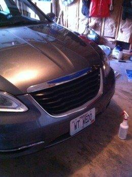 2012 Chrysler 200 Grill >> Plasti Dip