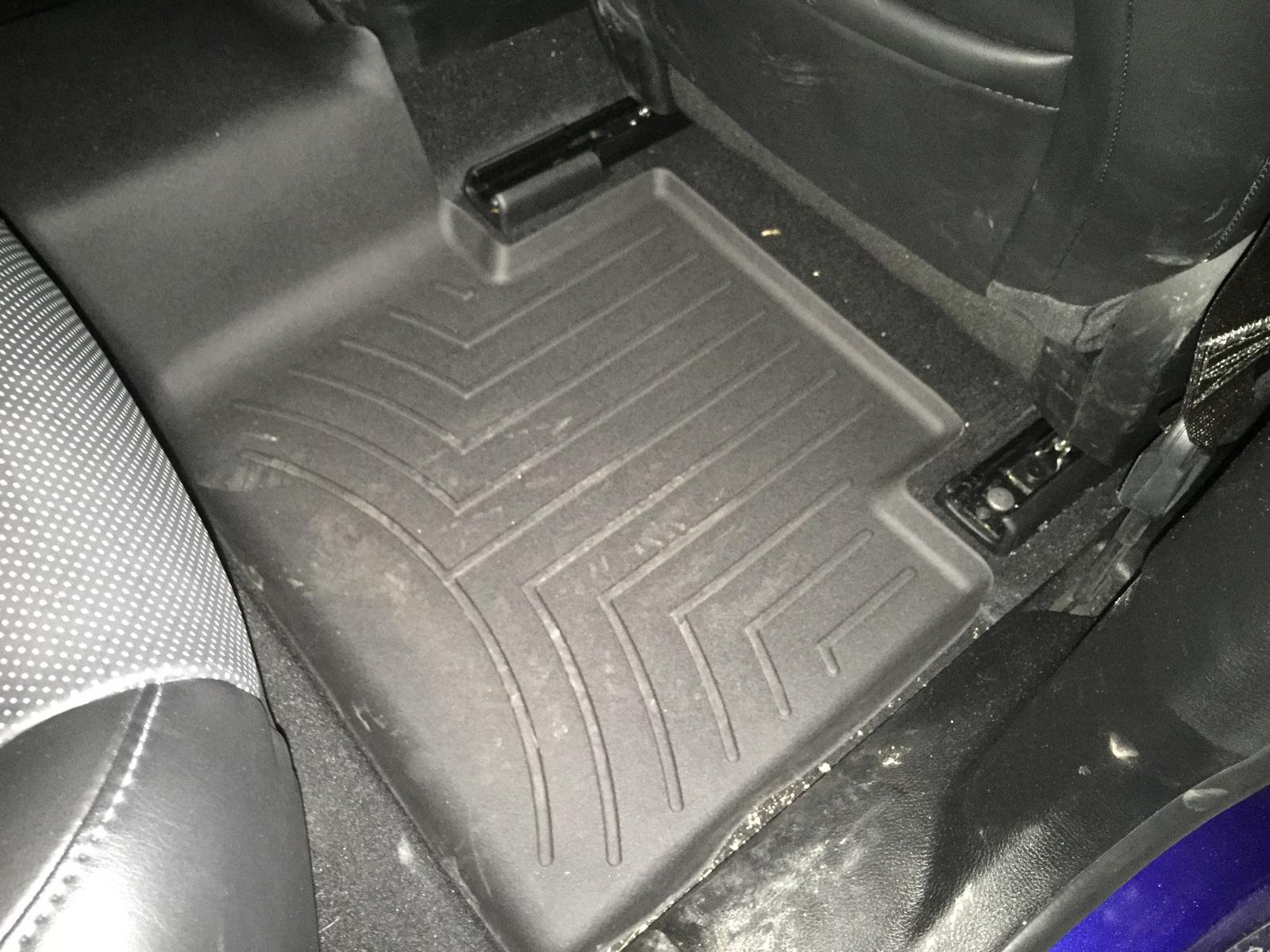 2nd row weather tech floor mats available now page 2. Black Bedroom Furniture Sets. Home Design Ideas