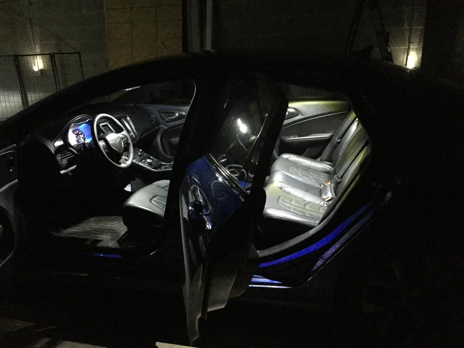 How to front interior led light conversion for 2016 chrysler 200 interior lights