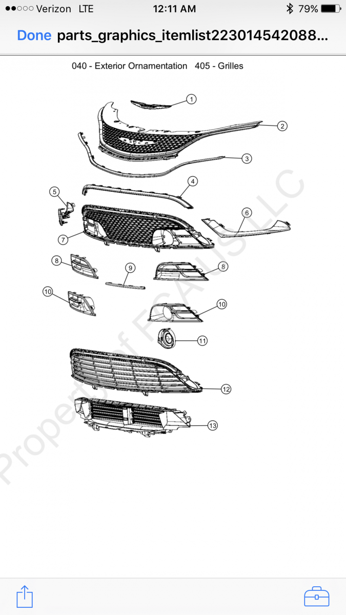 D Chrysler Lower Grille Img on Can Am Parts Diagram