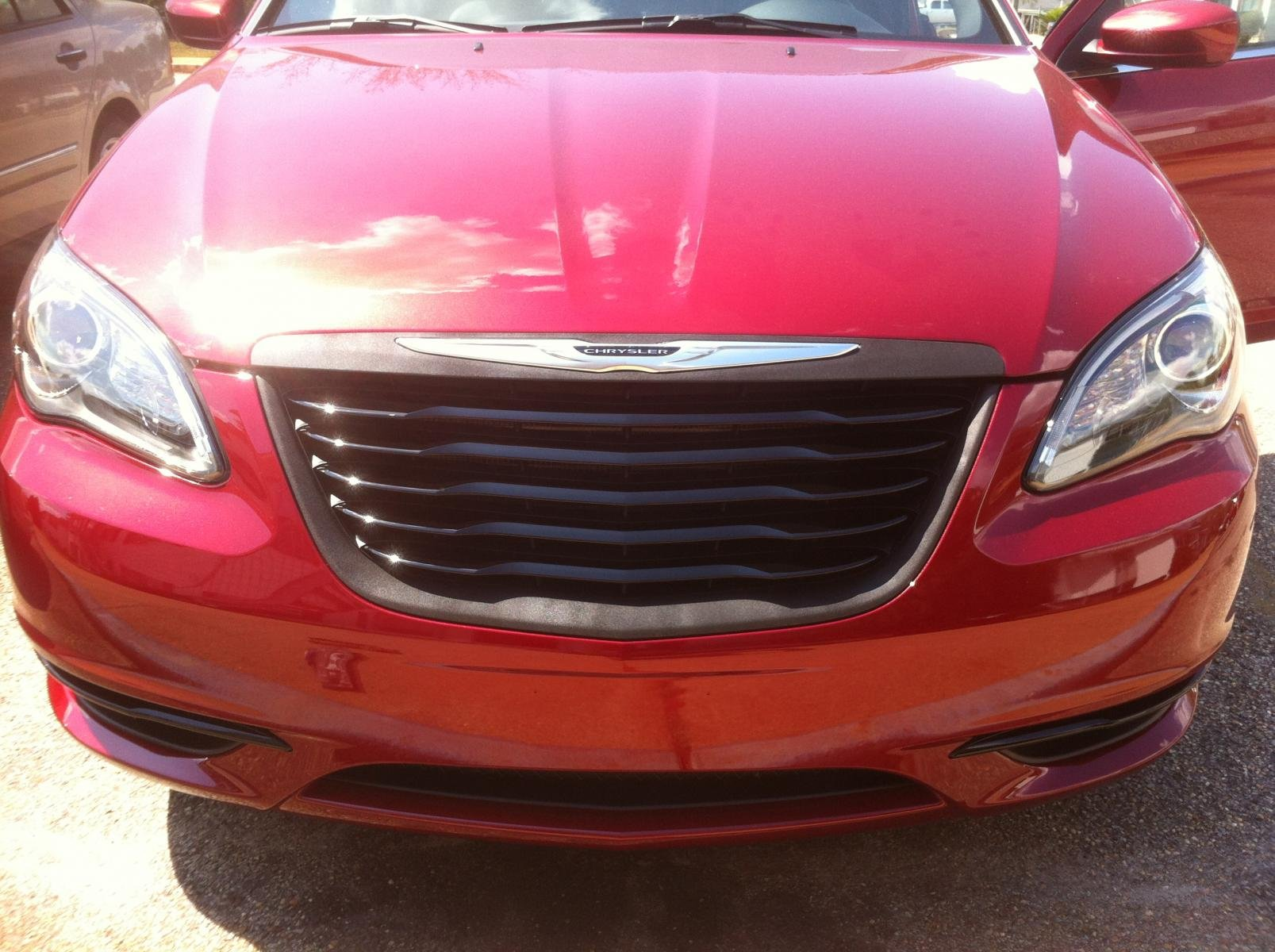 2012 Chrysler 200 Grill >> Plasti Dipping Front Grille