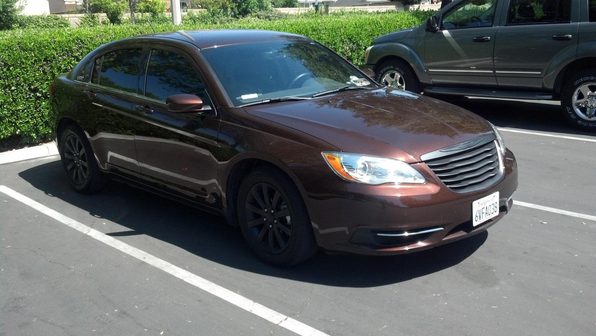 2012 Chrysler 200 Grill >> Never posted pics of my Car. From stock to mild mods.