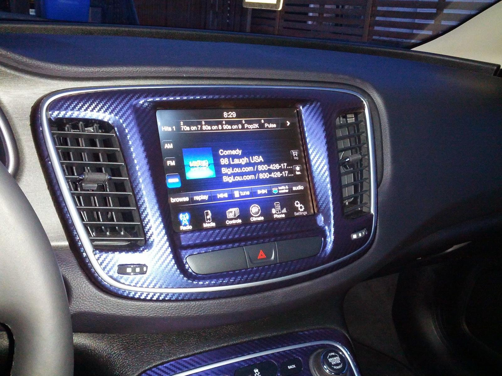 Carbon fiber color changing vinyl wrap on 2015 interior page 2 Blue carbon fiber wrap interior
