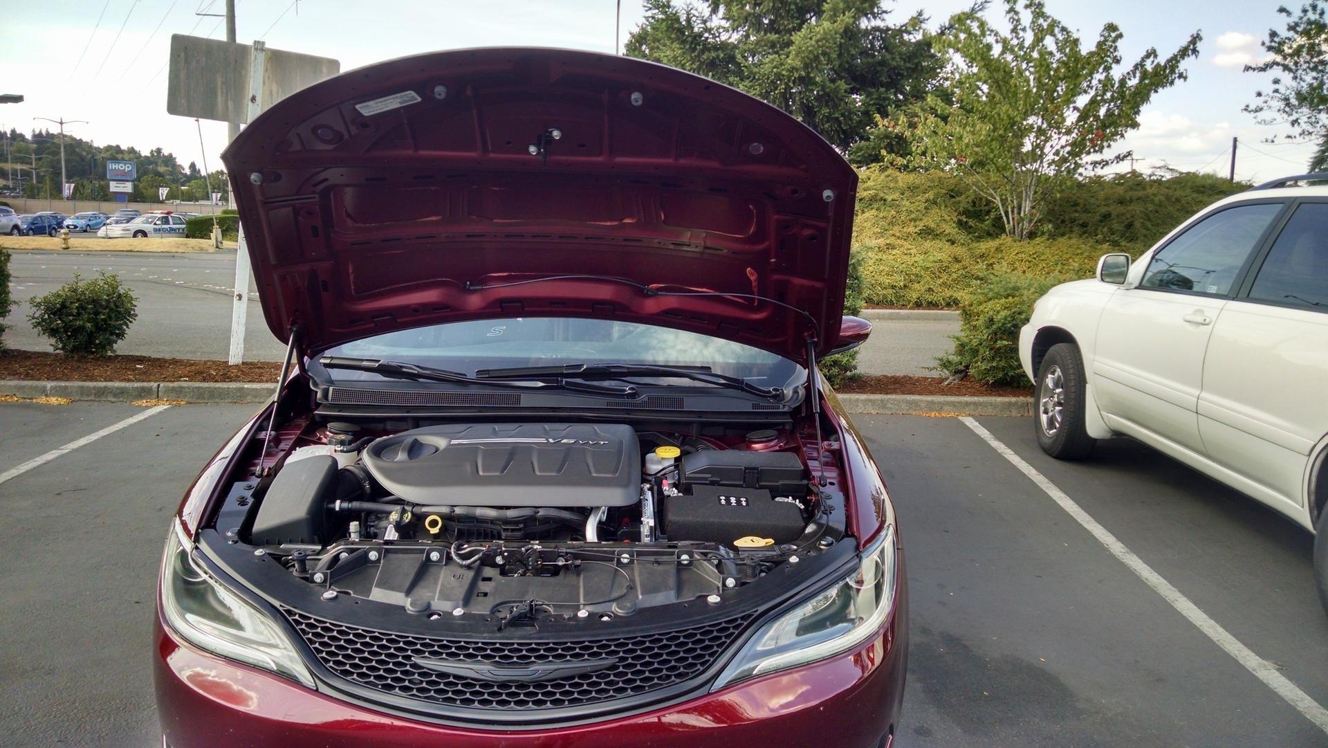 Motor Compartment Heat