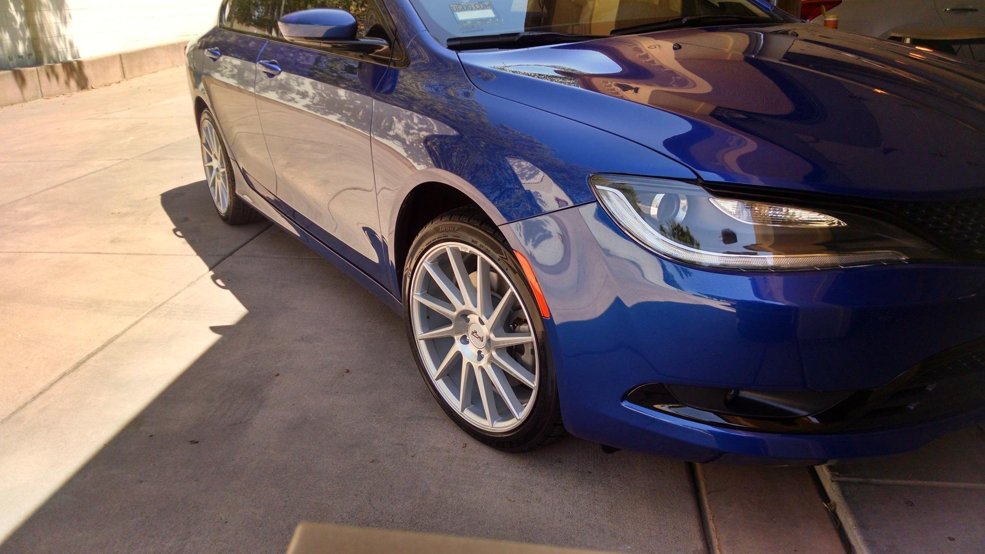 chrysler 200 mods wheels exterior aftermarket running body forum uf 200forums appearance hdr attachment