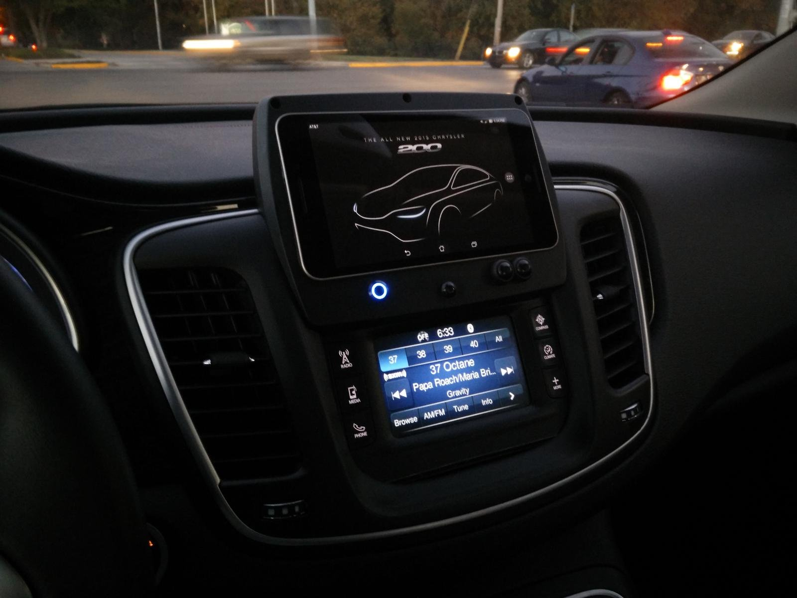 Android tablet in dash install link to complete build blog for 2016 chrysler 200 interior lights