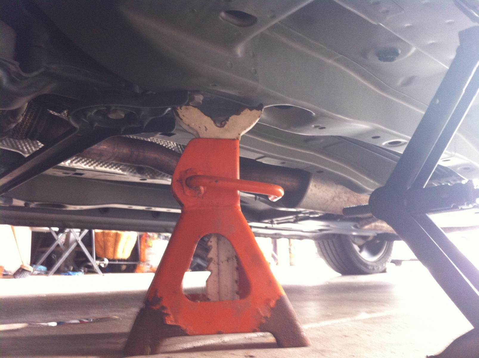 jack stand placement safe chrysler 200 reply forum
