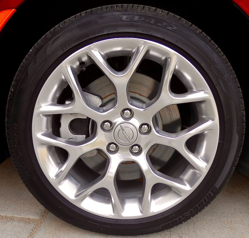 18 Inch Tires Off 2015 200C AWD Bridgestone Ecopia EP422