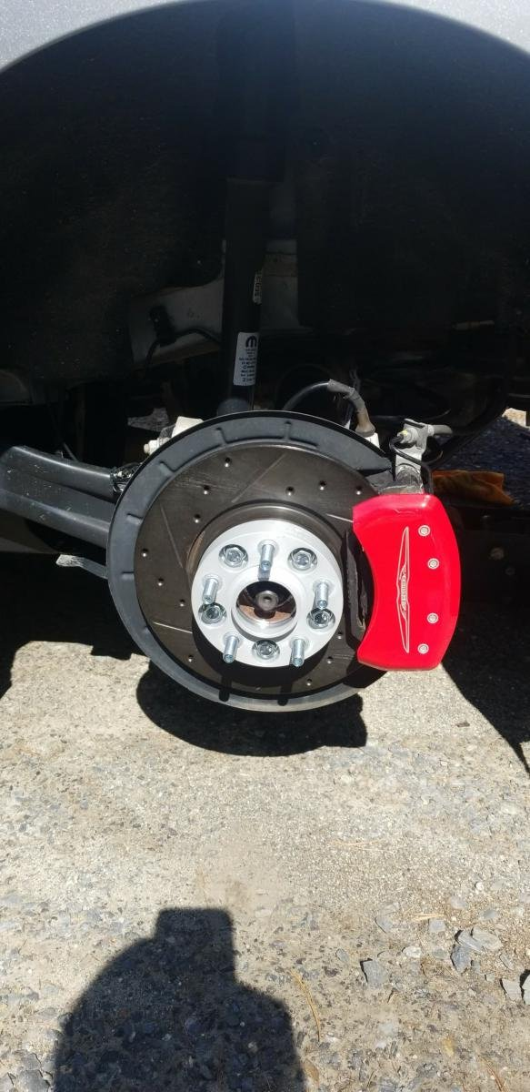 D Bigger Brakes Received on 2012 Chrysler 200 Brakes