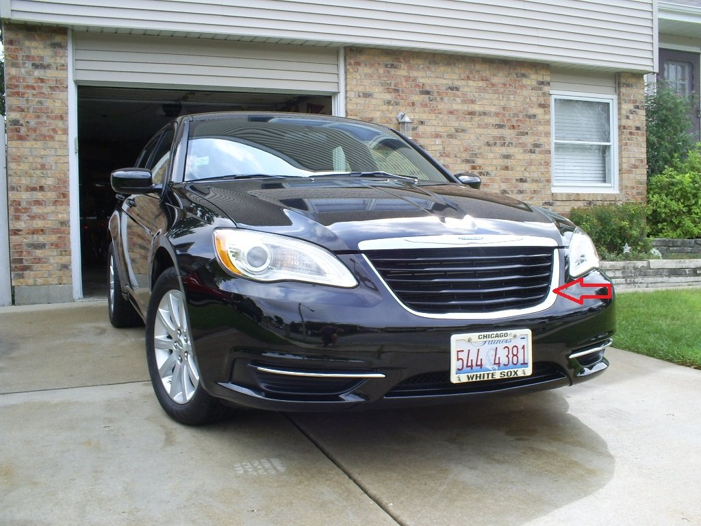 2012 Chrysler 200 Grill >> Painting The Grill
