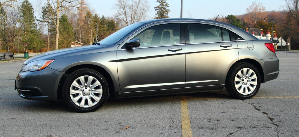 The Grey Ghost Tungsten Grey 2013 Chrysler 200lx